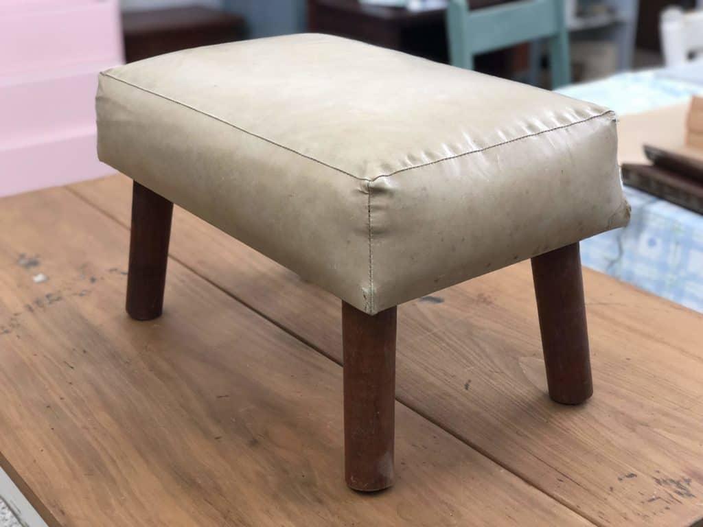 vinyl stool
