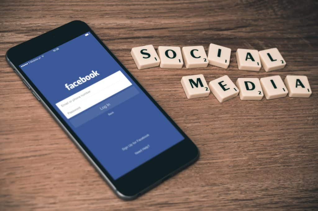 Facebook social media Photo by William Iven on Unsplash creative hobby
