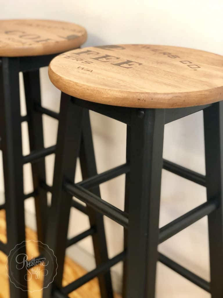 Industrial Farmhouse style stools