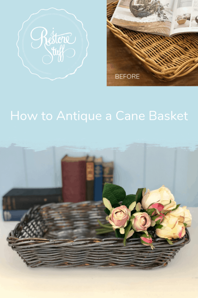 Creating a vintage Basket