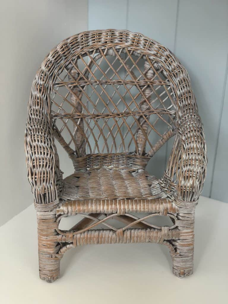 white wash cane furniture the easy way