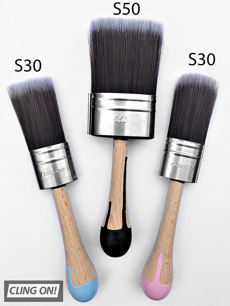 S30 Cling On Brush with the S50 brush