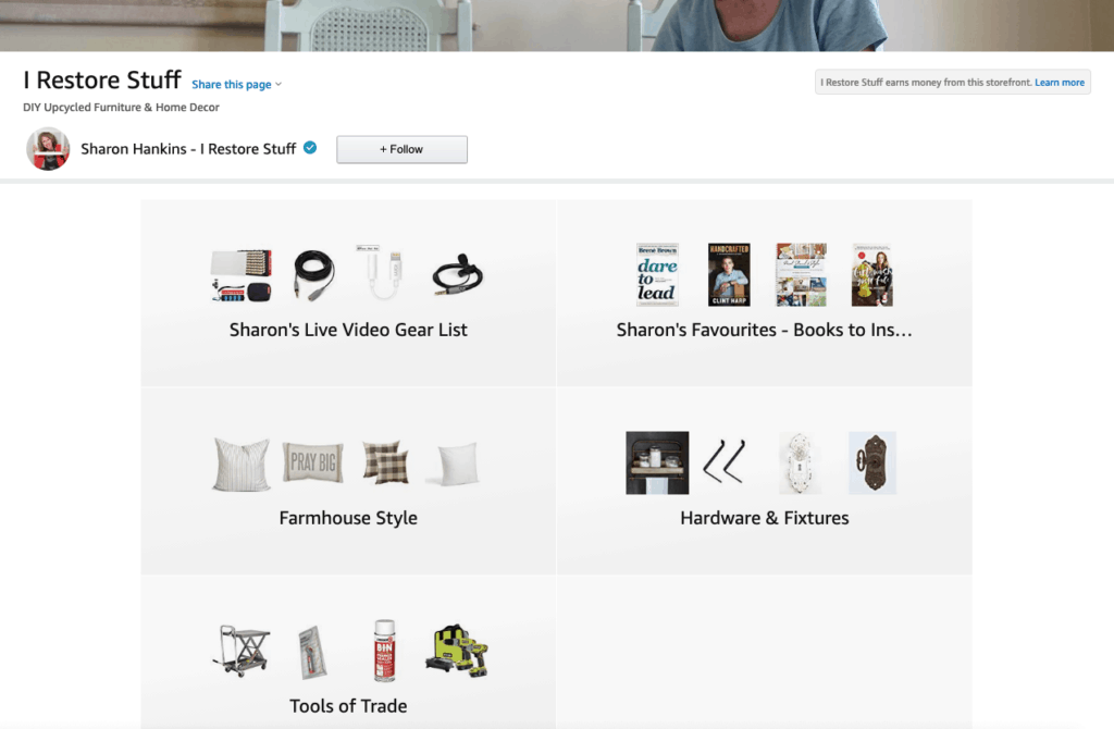 Amazon Storefront image