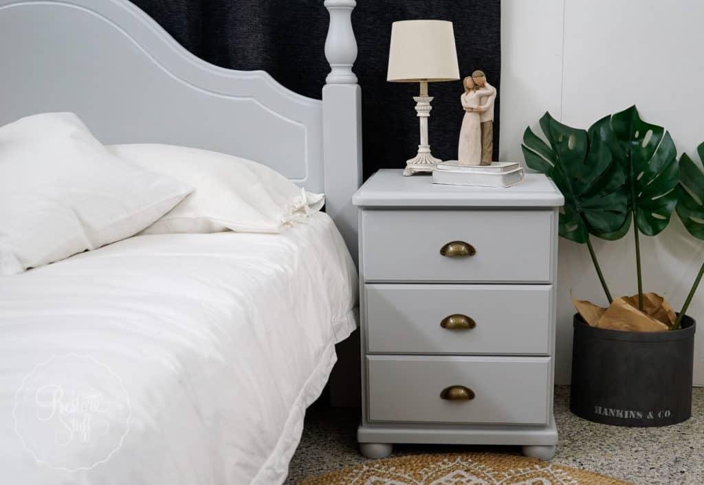 Sterling Queen Bed & Bedsides