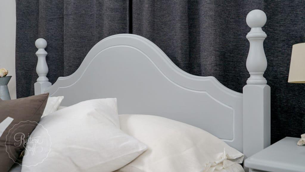 Queen Bed in Sterling