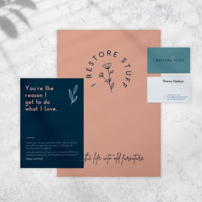 Branding for Creative Businesses – A New Look for I Restore Stuff