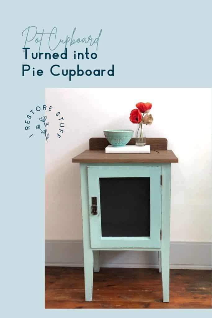 Pot cupboard Pinterest pin