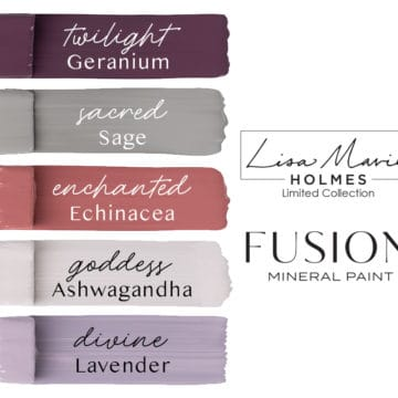 *NEW* Lisa Marie Holmes Collection - Fusion Mineral Paint