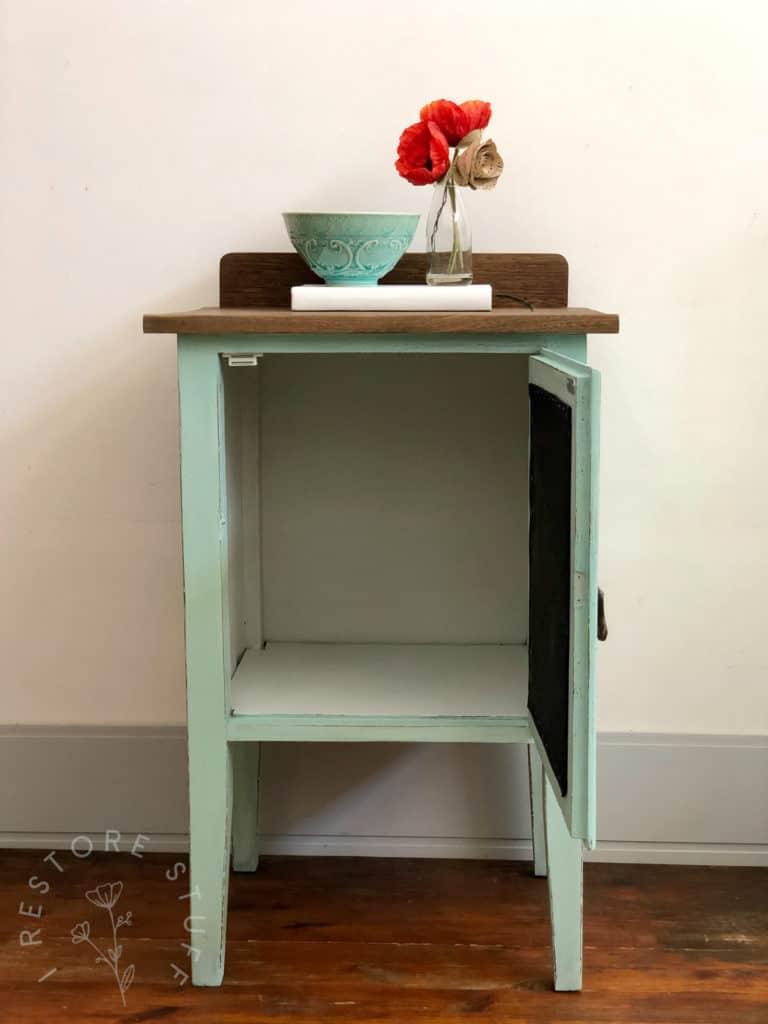 Pot cupboard turned pie cupboard