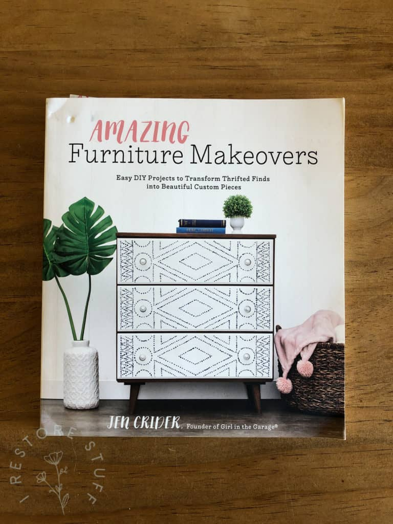 Amazing Furniture Makeovers book by Jen Crider.