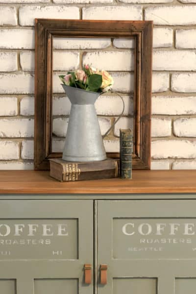 coffee station sideboard cupboard