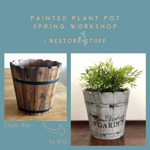 Plant pot workshop