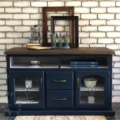 Dresser Drawers and an Entertainment Console