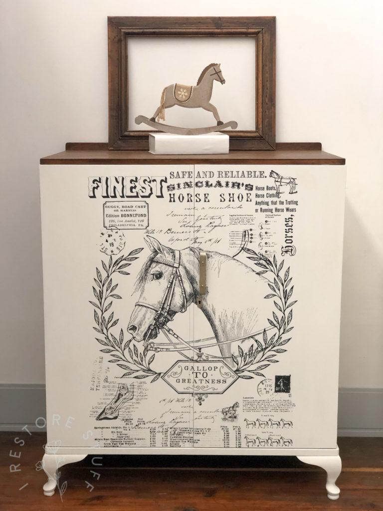 horse themed wardrobe