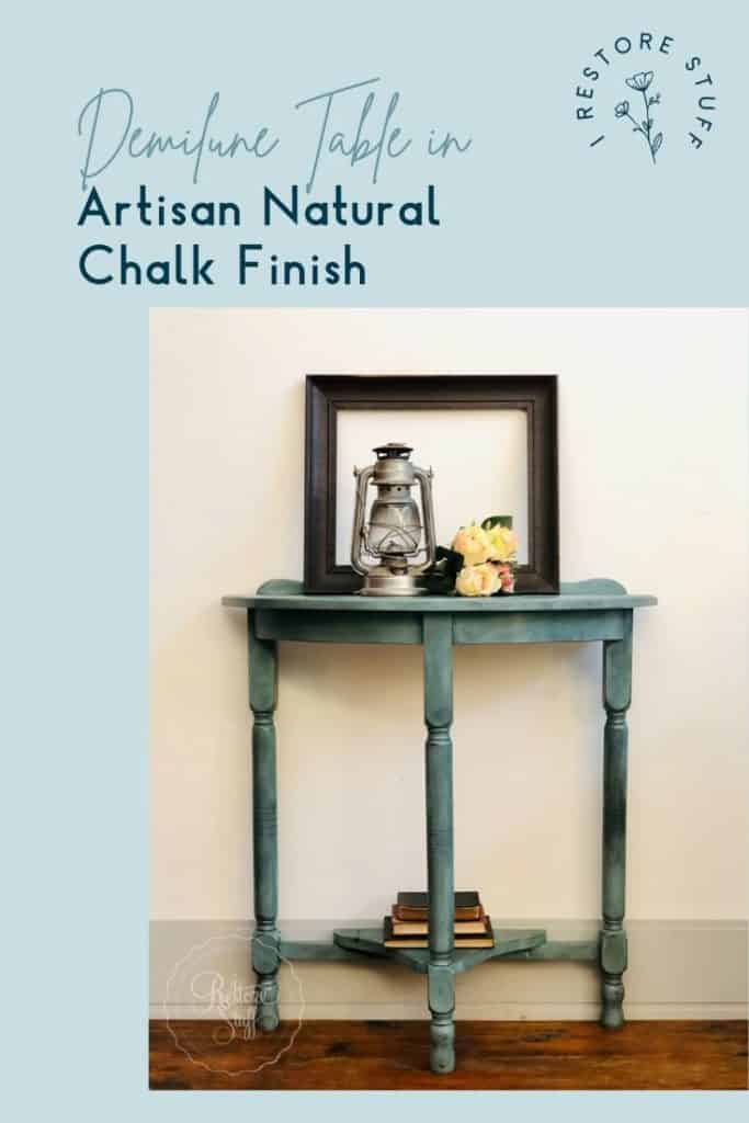 Artisan Natural Chalk Finish Pinterest pin