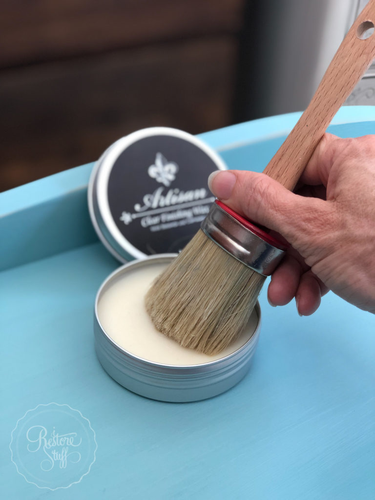 Artisan clear wax