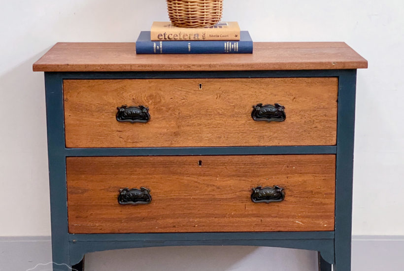 milk painted drawers in artissimo