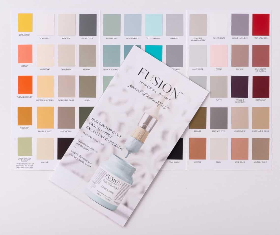 Fusion Colour Card (true To Colour) Trifold Brochure
