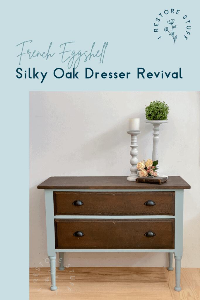 Pinterest silky oak dresser pin