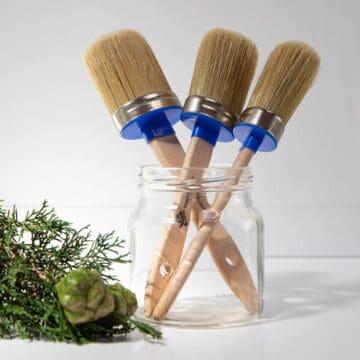 Artisan natural bristle brush