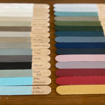 Artisan Paint Swatch set