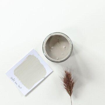 Cafe au lait Artisan chalk