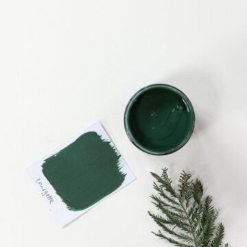 Courgette Artisan chalk