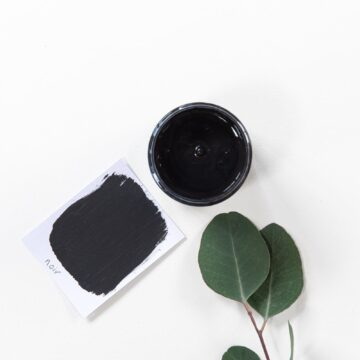 Natural Chalk Finish - Noir