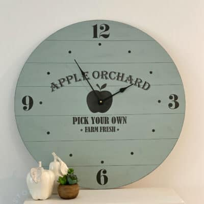 How to Create a Farmhouse Clock with Essential Stencil