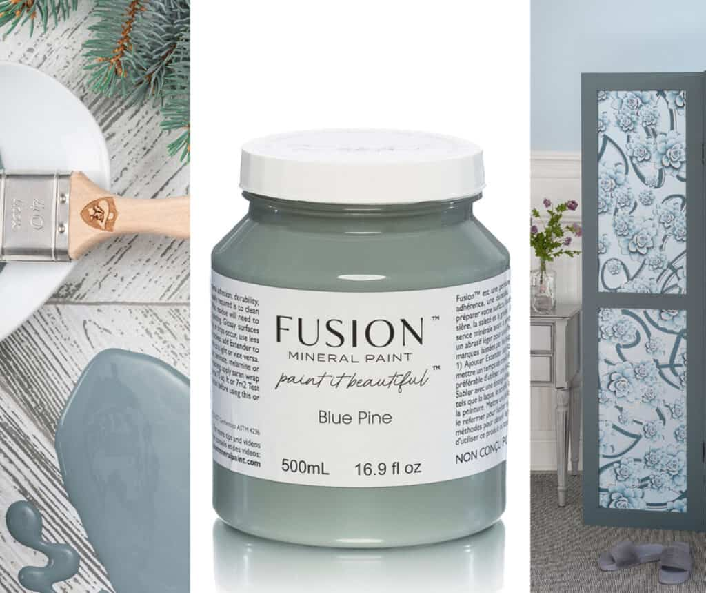Blue Pine - one of eleven new colours in Fusion 2021