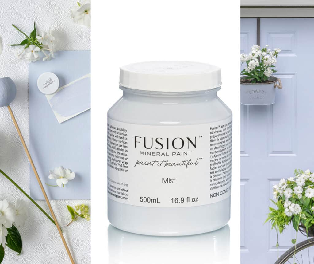 Mist - one of eleven new colours in Fusion Mineral paint 2021