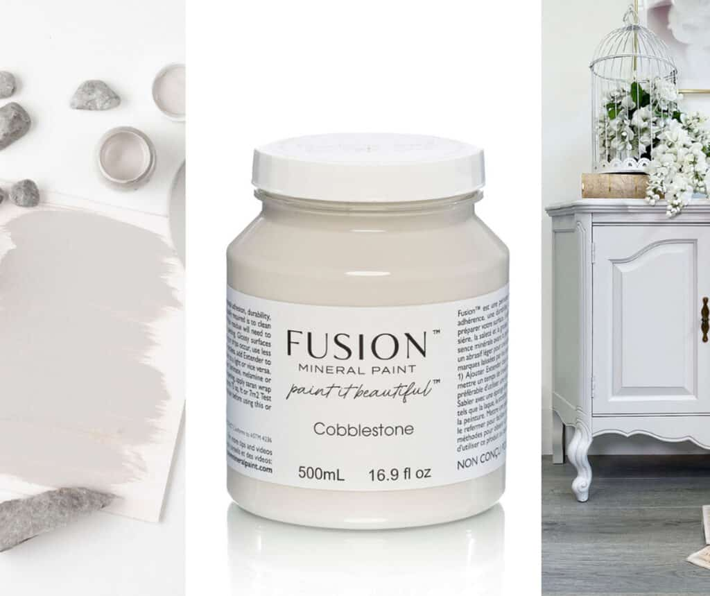 Cobblestone, one of eleven new colours in Fusion mineral paint 2021