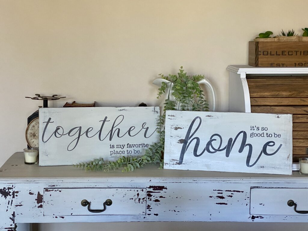 one of five techniques to add to your sign making repertoire.